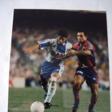 Coleccionismo deportivo: RCD ESPANYOL - FC BARCELONA .ULTIMO DERBI . T : 96-97. Lote 34744131