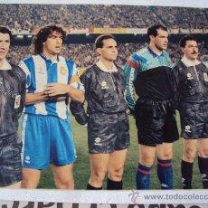 Coleccionismo deportivo: RCD ESPANYOL - FC BARCELONA . 1992 - 93. Lote 34769148