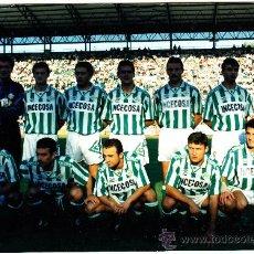 Coleccionismo deportivo: FOTOGRAFIA ALINEACION R.BETIS.. Lote 35198452