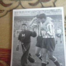Coleccionismo deportivo: 16 OCTUBRE 1949, CHAMARTIN REAL MADRID 4 - ATLETICO DE MADRID 2, APARICIO, ESCUDERO Y RAFA. Lote 35447910