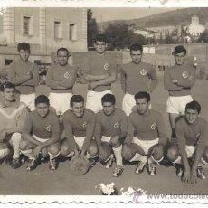 Coleccionismo deportivo: PS3374 FOTOGRAFÍA DEL CD MALGRAT (BARCELONA). AÑOS 50. 10,5 X 7,7 CM. Lote 35670293