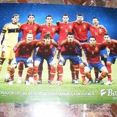 Coleccionismo deportivo: 1 POSTER SELECCION ESPAÑOLA FUTBOL - ESPAÑA 2012 GANADORA EUROCOPA AUSTRIA SUIZA. Lote 36160512