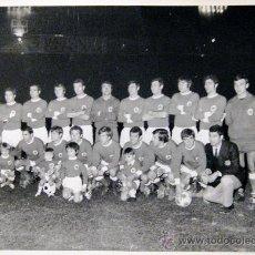 Coleccionismo deportivo: NASTIC. TARRAGONA. FOTOGRAFIA ORIGINAL. 1.02.1972. INAUGURACIÓN DEL NUEVO CAMPO. Lote 36343672