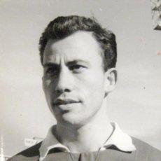 Coleccionismo deportivo: NASTIC. TARRAGONA. FOTOGRAFIA ORIGINAL. JUGADOR NAVARRO. 1961. Lote 36418210