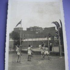 Coleccionismo deportivo: BALONCESTO. FOTOPOSTAL PARTIDO DE BASKET. 14 X 9 CMS. BARCELONA.1936. Lote 36661210
