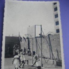 Coleccionismo deportivo: BALONCESTO. FOTOPOSTAL PARTIDO DE BASKET. 14 X 9 CMS. BARCELONA.1936. Lote 36661274