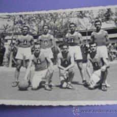 Coleccionismo deportivo: BALONCESTO. FOTOPOSTAL EQUIPO DE BASKET. 14 X 9 CMS. ZARAGOZA 1941. Lote 36661412