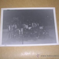 Coleccionismo deportivo: REAL CLUB DEPORTIVO ESPANYOL- F. CLUB BARCELONA 1977 EQUIPO DE HOCKEYSOBRE PATINES 13,5X9 CM. . Lote 36907858