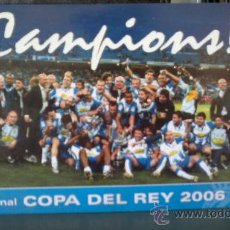 Collectionnisme sportif: POSTAL RCD ESPANYOL - FINAL COPA DEL REY 2006. Lote 37158213