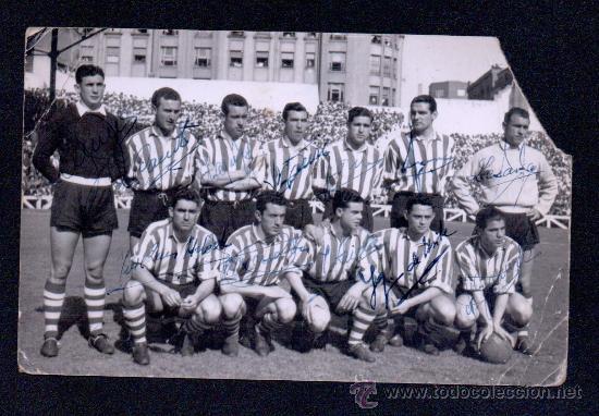 Plantilla de athletic club de bilbao con las fi comprar - Bilbao fotos antiguas ...