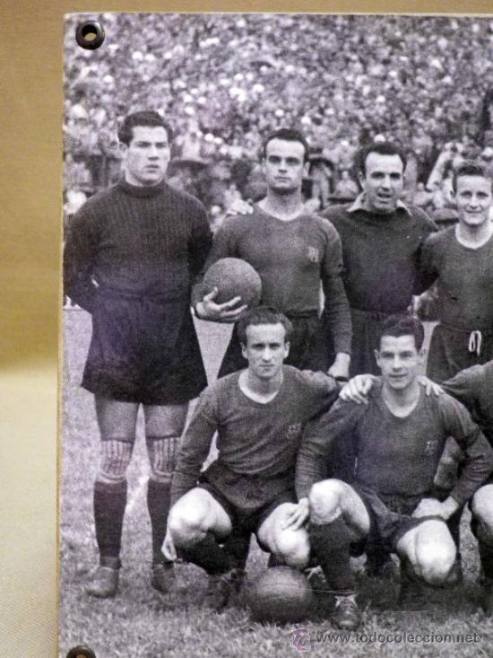 FOTOGRAFÍA. DEPORTIVA. FUTBOL CLUB BARCELONA. 1940S (Coleccionismo Deportivo - Documentos - Fotografías de Deportes)