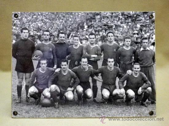 Coleccionismo deportivo: FOTOGRAFÍA. DEPORTIVA. FUTBOL CLUB BARCELONA. 1940s - Foto 2 - 37652728