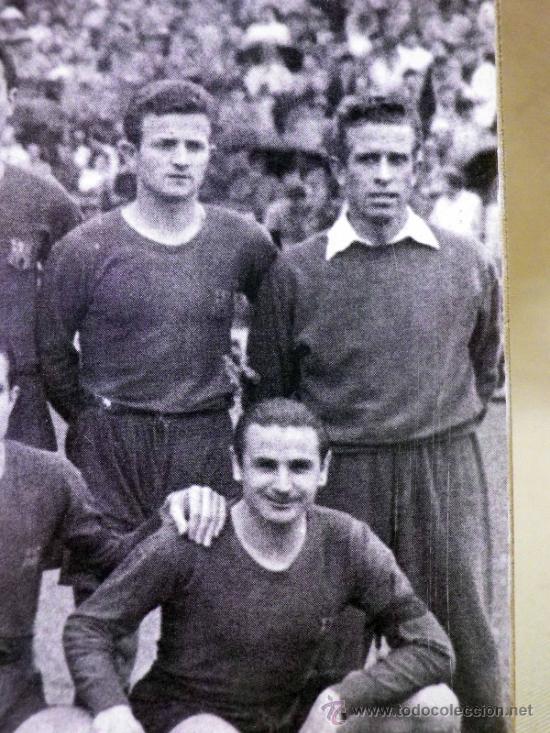 Coleccionismo deportivo: FOTOGRAFÍA. DEPORTIVA. FUTBOL CLUB BARCELONA. 1940s - Foto 3 - 37652728