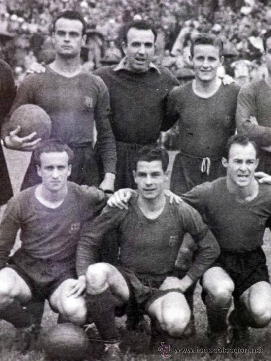 Coleccionismo deportivo: FOTOGRAFÍA. DEPORTIVA. FUTBOL CLUB BARCELONA. 1940s - Foto 4 - 37652728