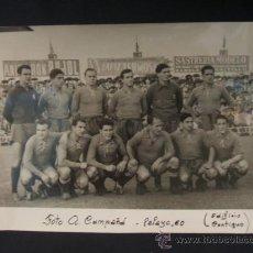 Coleccionismo deportivo - FOTOGRAFIA A. CAMPAÑA - PLANTILLA REAL SOCIEDAD - - 37799130