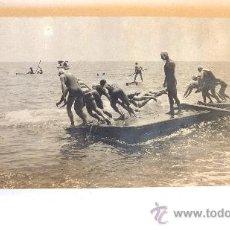 Coleccionismo deportivo: ANTIGUA FOTO 1904 CAMPEONATO ESPAÑA DE NATACION CLUB NATACIÓN BARCELONA CUADRADA , SALAEGUI , PUERTO. Lote 38451032
