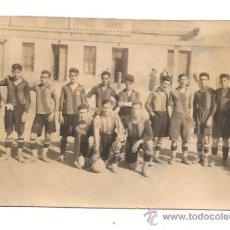 Collectionnisme sportif: FOTO DEL EQUIPO DEL ORATORIO DE BADALONA - AÑO 1928. Lote 38458314