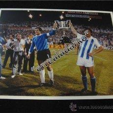 Coleccionismo deportivo: FOTOGRAFIA 15X20 REAL SOCIEDAD COPA 86-87 ARCONADA ARKONADA. Lote 39003530