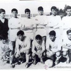 Coleccionismo deportivo: ALMERIA, TEMPORADA 1966-67,C.D.PLUS ULTRA, ANTONIO BIOSCA,JUGADOR DEL BETIS,FOT.RUESGA BONO,176X126M. Lote 39152468