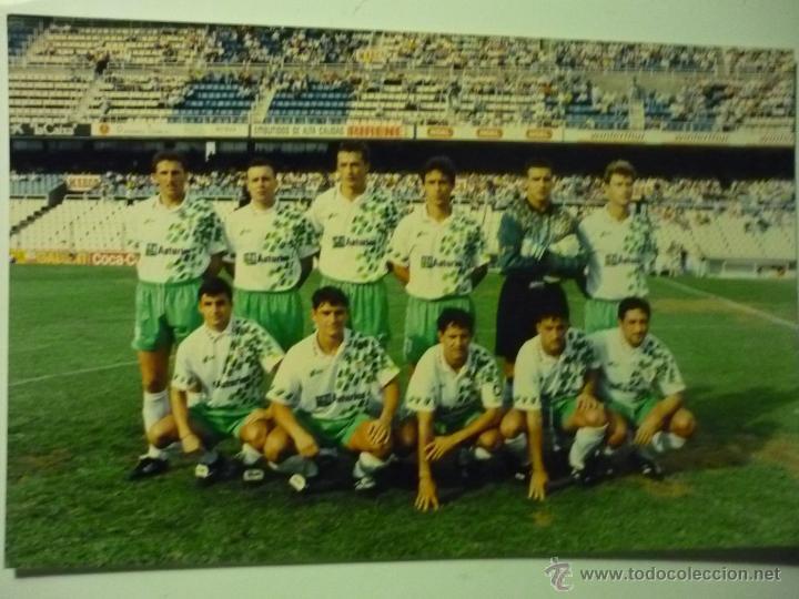 FUTBOL FOTO 27 X 18 DEL REAL OVIEDO (Coleccionismo Deportivo - Documentos - Fotografías de Deportes)