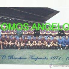 Coleccionismo deportivo: FOTO 10X15 CM - FC BARCELONA TEMPORADA 1971 1972 PLANTILLA (FOTO 1) -. Lote 39442192