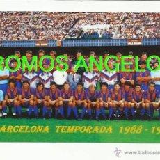 Coleccionismo deportivo: FOTO 10X15 CM - FC BARCELONA LIGA TEMPORADA 1988-1989 PLANTILLA. Lote 39448442