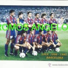 Coleccionismo deportivo: FOTO 10X15 CM - FC BARCELONA LIGA TEMPORADA 1996-1997 FOTO 1. Lote 39448585