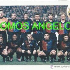 Coleccionismo deportivo: FOTO 10X15 CM - FC BARCELONA LIGA TEMPORADA 1998-1999 FOTO 1. Lote 39448594