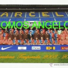 Coleccionismo deportivo: FOTO 10X15 CM - FC BARCELONA LIGA TEMPORADA 2008-2009 PLANTILLA. Lote 39448614