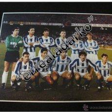 Coleccionismo deportivo: FOTOGRAFIA 15X20 REAL SOCIEDAD 88-89 1988-1989 ARCONADA ARKONADA. Lote 42136242