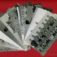 Coleccionismo deportivo: LOTE DE 10 FOTOS TAMAÑO POSTAL, EQUIPO BURJASOT CAMPO BASOT , VALENCIA, ORIGINALES.. Lote 39955846