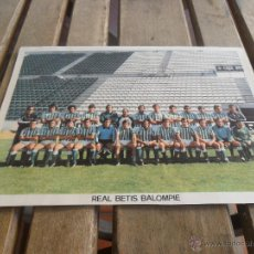 Coleccionismo deportivo: FOTO REAL BETIS BALOMPIE MIDE 22.3 X 16.4 CM. Lote 40423979