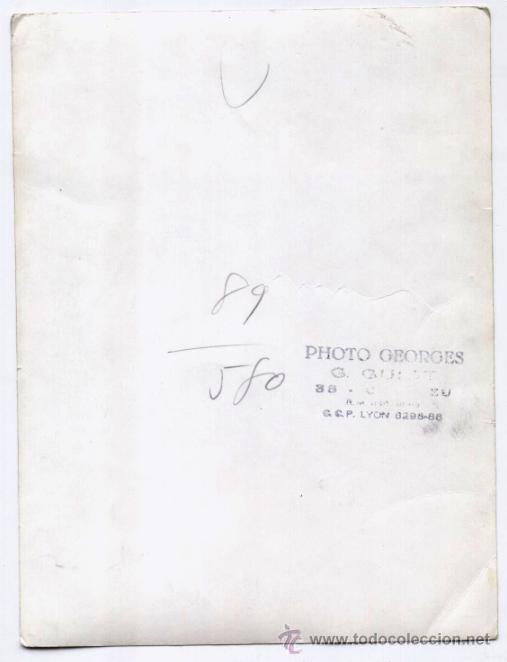 Coleccionismo deportivo: ANTIGUA FOTOGRAFIA FOOTBALL CLUB LYON (1893-1968) - Foto 2 - 40698948