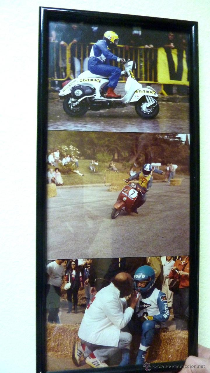 3 fotos enmarcadas carrera rally vespa enmarcad - Comprar ...