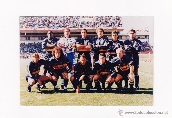FOTO 10 X 15 CM. - ALINEACION BOCA JUNIORS AÑO 1996 (Coleccionismo Deportivo - Documentos - Fotografías de Deportes)