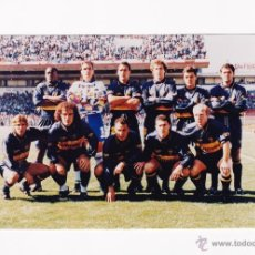 Coleccionismo deportivo: FOTO 10 X 15 CM. - ALINEACION BOCA JUNIORS AÑO 1996. Lote 40956325