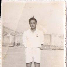 Coleccionismo deportivo: FOTO POSTAL JUGADOR FÚTBOL. Lote 41079373