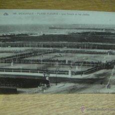 Coleccionismo deportivo: ANTIGUOS CAMPOS DE TENIS - DEAUVILLE - FRANCIA. Lote 41610327