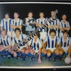 Coleccionismo deportivo: FOTOGRAFIA 15X20 REAL SOCIEDAD 81-82 1981 1982 ARCONADA ARKONADA. Lote 42136248