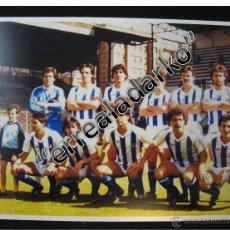 Coleccionismo deportivo: FOTOGRAFIA 15X21,5 REAL SOCIEDAD 86-87 1986 1987 ARCONADA ARKONADA. Lote 42136260