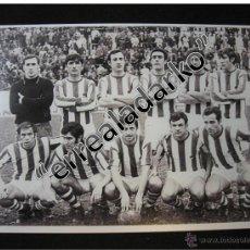 Coleccionismo deportivo: FOTOGRAFIA 15X22 REAL SOCIEDAD AÑOS 70 BLANCO Y NEGRO. Lote 41810400