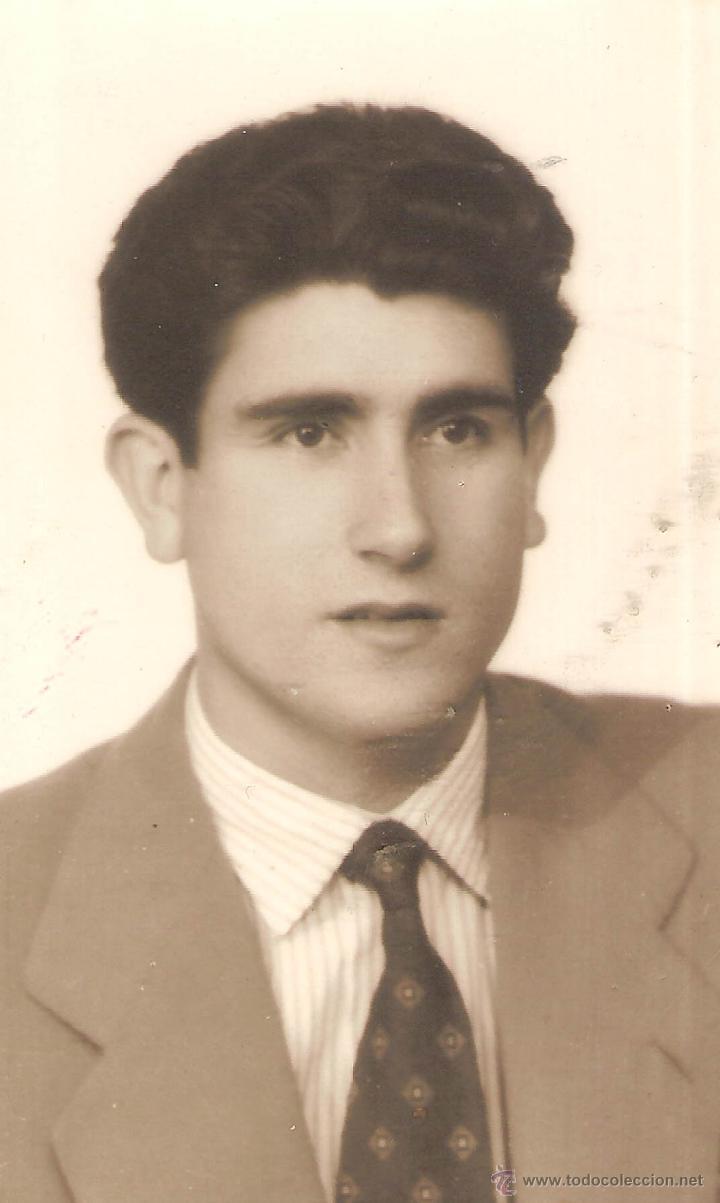 FOTOGRAFIA ORIGINAL ROMÁN MATITO (AT. TETUÁN, REAL VALLADOLID). AÑOS 50. (Coleccionismo Deportivo - Documentos - Fotografías de Deportes)