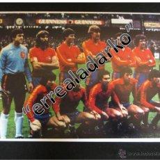 Coleccionismo deportivo: FOTOGRAFIA 15X21 SELECCION ESPAÑA ARCONADA ARKONADA. Lote 56496403