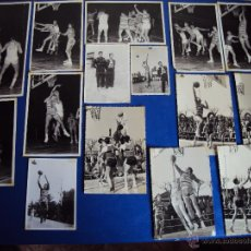 Coleccionismo deportivo: (F-12)LOTE DE 22 FOTOGRAFIAS DEL MITICO JUGADOR DE BALONCESTO,ALFONSO MARTINEZ,AISMALIBAR MONTCADA. Lote 42616846
