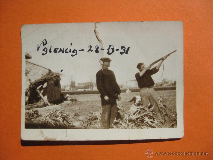 CAZA. CAMPO DE TIRO VALENCIA 1931. (Coleccionismo Deportivo - Documentos - Fotografías de Deportes)