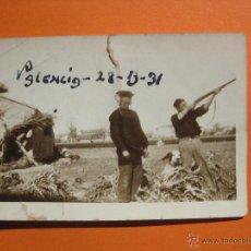 Coleccionismo deportivo: CAZA. CAMPO DE TIRO VALENCIA 1931.. Lote 42714506