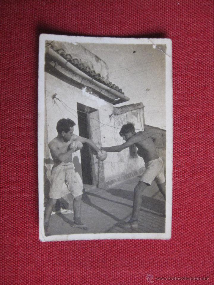 BOXEO. FOTOGRAFIA BOXEADORES (Coleccionismo Deportivo - Documentos - Fotografías de Deportes)