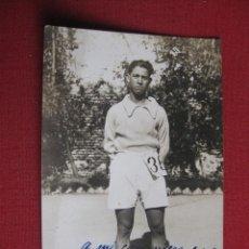 Coleccionismo deportivo: ATLETISMO.POSTAL FOTOGRAFICA. DEDICATORIA A LUIS ARCHELOS DE JOSE RELIEGOS. Lote 42774734
