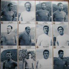 Coleccionismo deportivo: FOTOS FUTBOL REAL MADRID - 15 FUTBOLISTAS - AÑOS 60'S. Lote 48563315