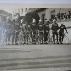 Coleccionismo deportivo - FOTOGRAFIA ORIGINAL EQUIPO CICLISMO FERRYS AÑOS 60 VUELTA ESPAÑA - 43471546